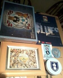 Coventry City 'Highfield Road Heroes' Framed Postcard