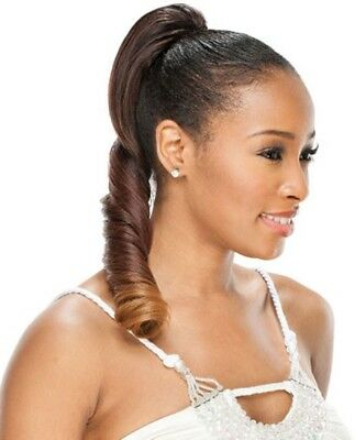 (PIGTAIL GIRL - FREETRESS EQUAL DRAWSTRING PONYTAIL SYNTHETIC HAIR)