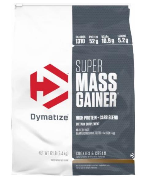 Dymatize Super Mass Gainer Massive Gains with Calories Carbs