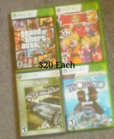 Xbox 360 games some rare and collectable