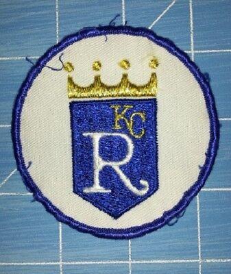 KANSAS CITY ROYALS BASEBALL PATCH