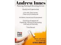 Andrew Innes Plasterer & Decorator