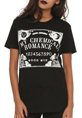 My Chemical Romance SPIRIT BOARD OUIJA BOARD Girls Womens T-Shirt NEW Authentic