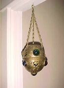 Antique Hanging Candle Holder