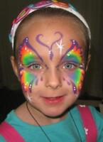 COLORFUL & CREATIVE FACEPAINTER