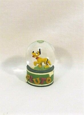 Snow Globe Maker (Disney PLUTO Snow Globe Mini Size Snow Maker with Glitter Inside 2 1/4