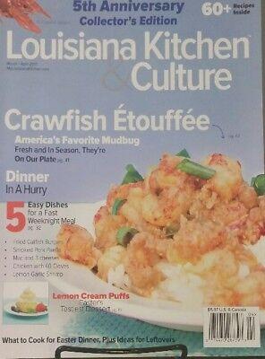 - Louisiana Kitchen & Culture Mar Apr 2017 Crawfish Etouffee FREE SHIPPING mc25