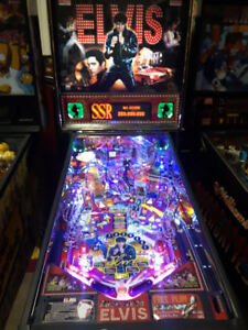 Elvis pinball...Rolling Stones pinball...30 other pinball's
