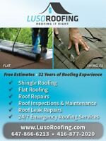 Roofing | Shingles | Flats | Repairs | Emergency | Maintenance
