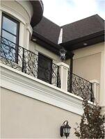 Custom Iron Ornamental Railings and Gates