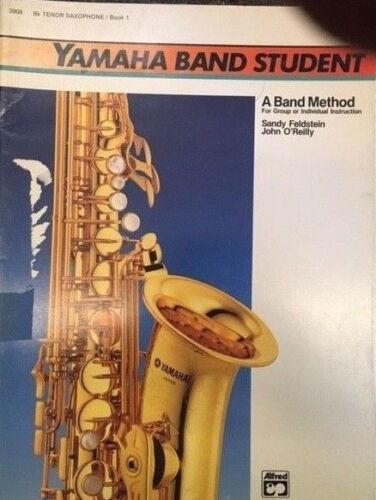 YAMHAHA BAND STUDENT TENOR Sax Method Book 1