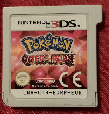 Pokémon Omega Ruby- Cartridge Only- Nintendo 3DS Video Game