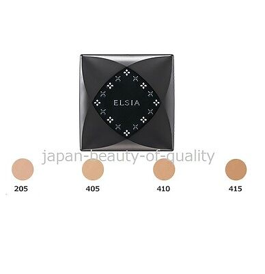 JAPAN Kose Elsia Platinum Moist Foundation With case Color: 415 SPF22 PA++