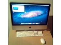 Apple IMac 8.1. Intel core 2 duo 2.66GHz, Mac OS X Mountain Lion