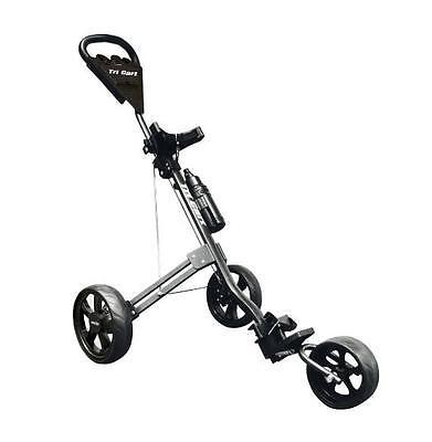 Longridge Tri Cart 3 Wheel Pull/ Push Golf Trolley + FREE Delivery