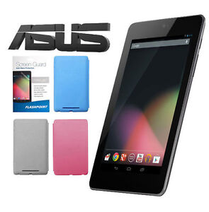 Asus-Google-Nexus7-7-32GB-Android-4-1-Tablet-1-2GHz-w-Case-Screen-Protector