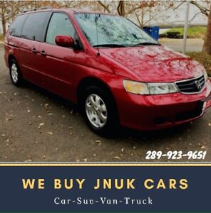 We Buy Junk Cars $200-$4000 Call us Now ☎️289-923-9651