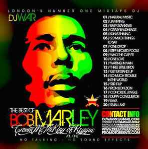 Bob Marley Mixtape CD - Greatest Hits /Best of/ Collection 2017 Reggae Wailers