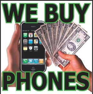 we buy any kind of phones  new or used cash money
