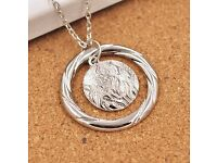 Divergent Flame Necklace