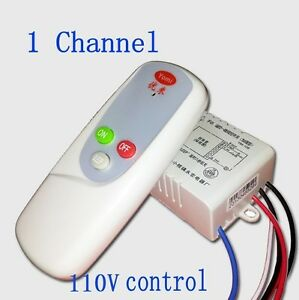 remote control lights remote wall light switch ebay 10677