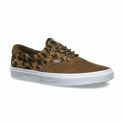 VANS Era 59 + (Italian Weave) Teak Brown Skate Shoes Mens 7.5 Womens 9