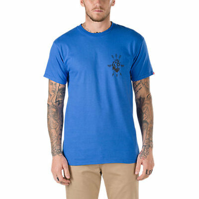 VANS OTW (OPEN HEART) SKATE TEE T SHIRT ROYAL BLUE SZ MENS XXL 2XL NWT NEW (Heart Skate)