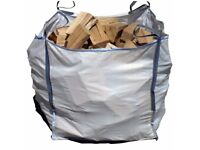 Bulk Pallet Bag of Kiln Dried Hardwood Delivered (Anywhere in Northern Ireland) = £120