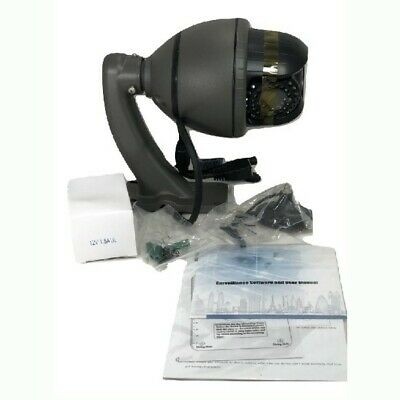 Pelco Sd4-w Mini Ptz Dome System Ip Camera Wall Mount Smoked Bubble