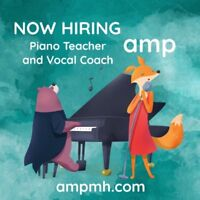 Piano Instructor and Vocal Coach