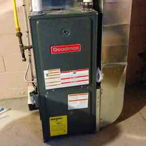 Brand New High Efficiency Furnace Upgrade