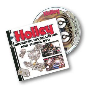 Instructiional DVD to Install & Tune Holley Carbs.