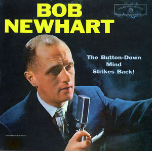 BOB NEWHART Comedy Vinyl LP - 1960 - NM - NM Kitchener / Waterloo Kitchener Area image 1