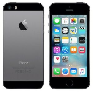 Apple iPhone 5S Grey 16GB in Good Condition (Fido)