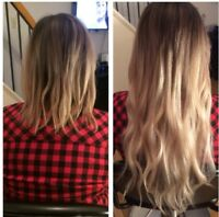 Fusion/Tape/Micro loop hair extensions