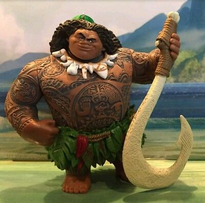 Disney Moana Large Maui demigod Christmas Ornament LAST ONES