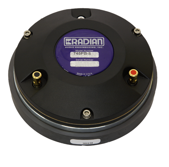 "Radian 745PB 1.4/"" High Frequency Compression Driver 8 ohm"