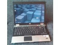 HP 6930. 3Gb ram, core 2 duo, Windows 7 and office