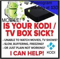 Android box update and programming, plus extras!