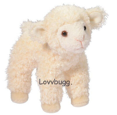 "Lovvbugg Little Lamb 5"" Pet for 18"" American Girl Doll Accessory"
