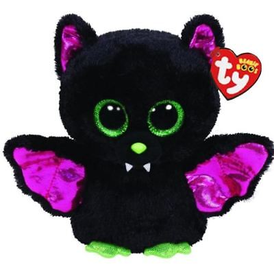 "Black Cat 6"" Ty Beanie Boos Puppy Glitter Big Eyes Plush Stuffed Animals Toy"