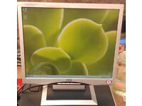 """17"""" LCD monitor with Speakers for PC / Laptop / CCTV Security Camera **FREE DELIVERY**"""