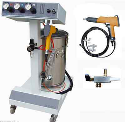Electrostatic Powder Coating Spray Gunspray Machinepaint System Ax