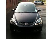 Honda civic needs Mot/repairs reasonable offers considered