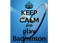 Badminton in Portchester Tuesday nights