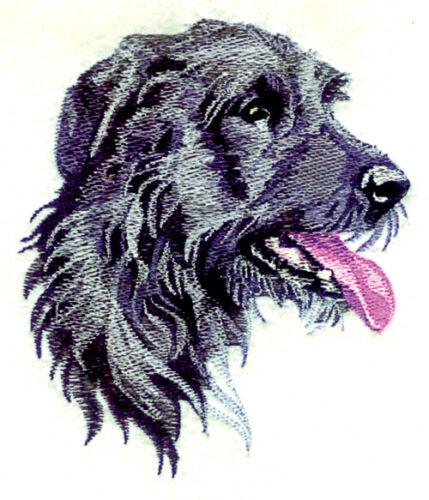IRISH WOLF HOUND Dog Breed Bathroom SET OF 2 HAND TOWELS EMBROIDERED