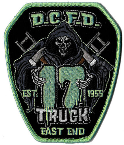 DCFD Truck 17 East End Est. 1955 Reaper NEW Fire Patch