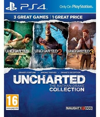 Uncharted: The Nathan Drake Collection - PS4 Playstation 4 - NEU OVP
