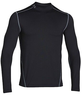 Under Armour Mens Ua Base Layer Coldgear Mock New Mens X Large Msrp  50 1265648