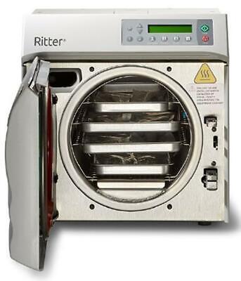 New Midmark Ritter M9d Tablet Autoclave Steam Sterilizer Manual Door M9d-042
